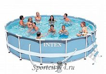 Бассейн каркасный Intex Metal Frame Pool 28736-44