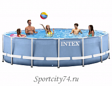 Каркасный бассейн Intex Prism Frame 26736